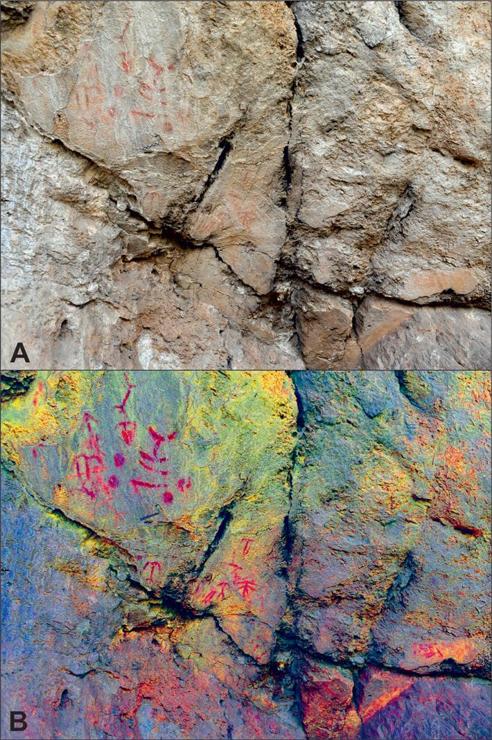 Fingerprints Studied at Rock Art Site in Spain - Archaeology Magazine