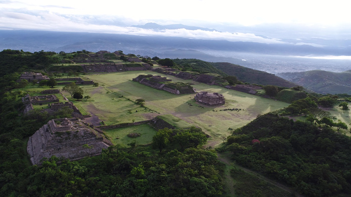 Square Structure Detected Under Monte Albán's Main Plaza - Archaeology Magazine