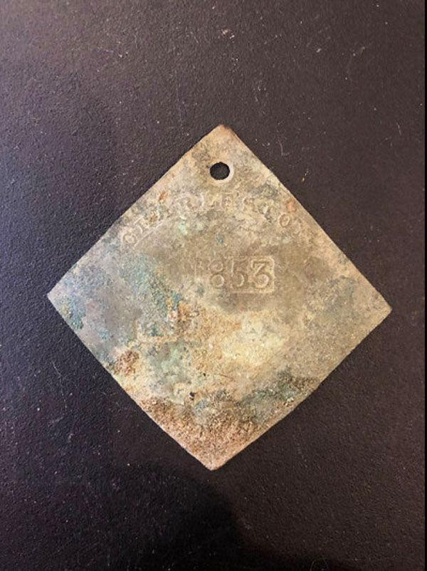 """Rare """"Slave Badge"""" Unearthed in South Carolina - Archaeology Magazine"""