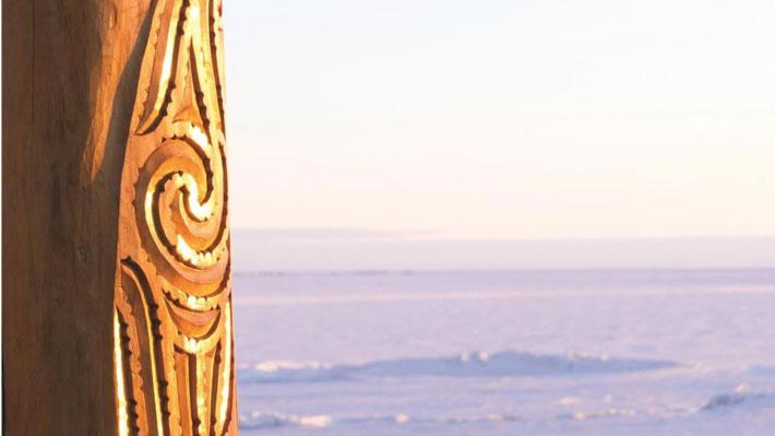 अंटार्कटिक के लिए माओरी यात्राओं के अध्ययन समीक्षा साक्ष्य