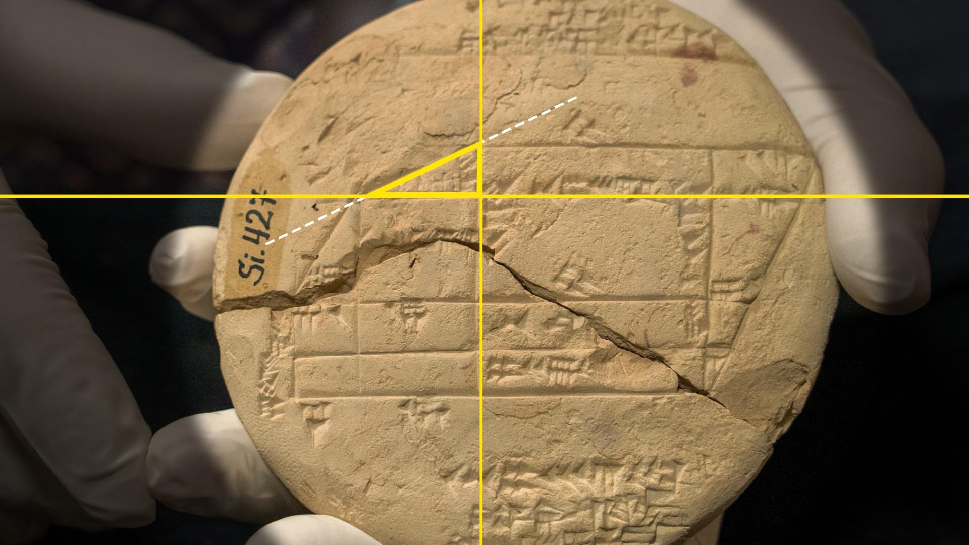 Nguồn gốc của hình học ứng dụng được tiết lộ trên máy tính bảng cổ đại