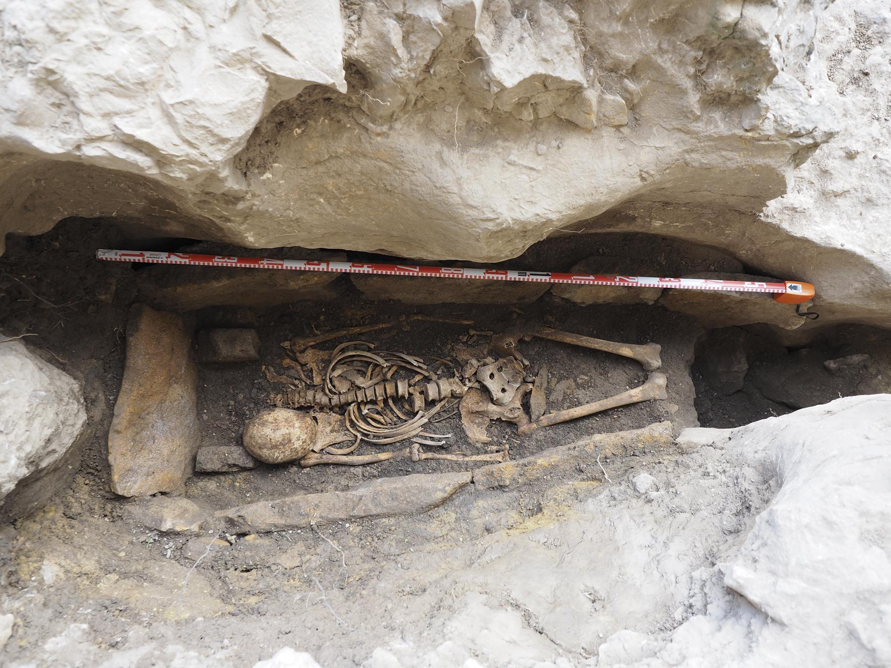 Possible Grave of Medieval Christian Hermit Excavated in Spain - Archaeology Magazine