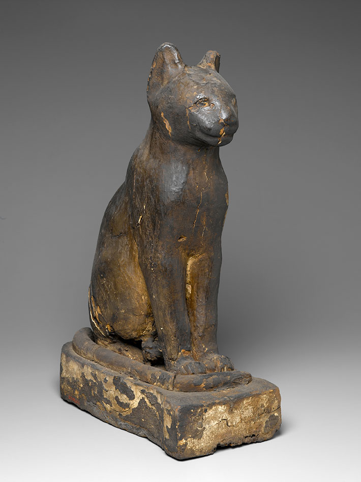 Epgyptian Cat Mummy Coffin