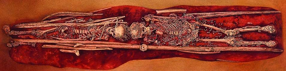 Russia Sunghir burials