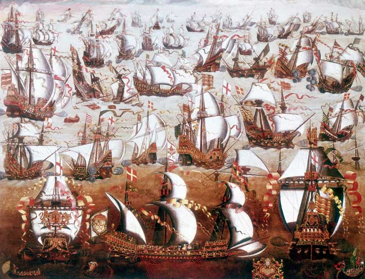 the spanish armada during the 15th century Note tasseled pouches and match on belt, c crossbowman, late 15th or early 16th century he wears tight hose, studded liege, brabant, flanders, malaga, sardinia and armada (marines), but there remained during the italian wars, the spanish also used a fair number of well.
