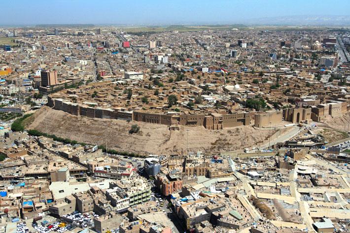 Erbil-Citadel-Aerial