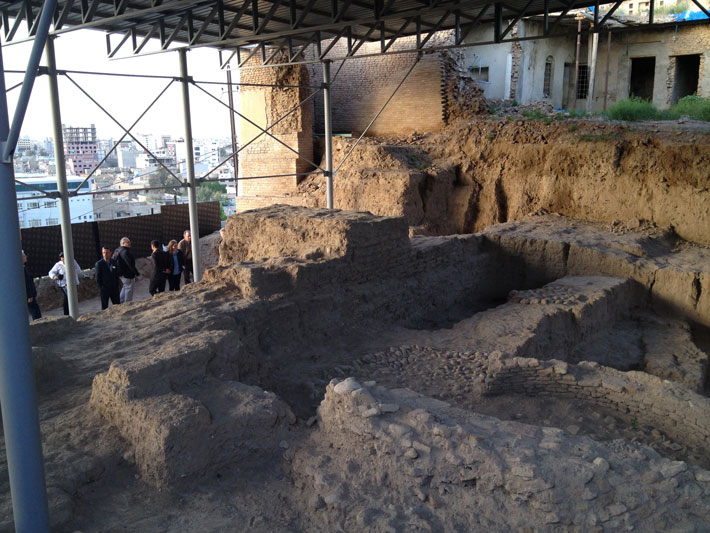 Erbil-Citadel-Excavation
