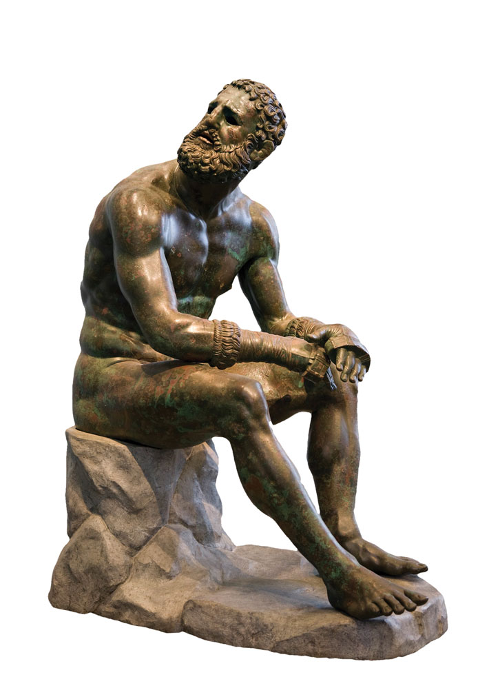 Greek-Boxer-Sculpture