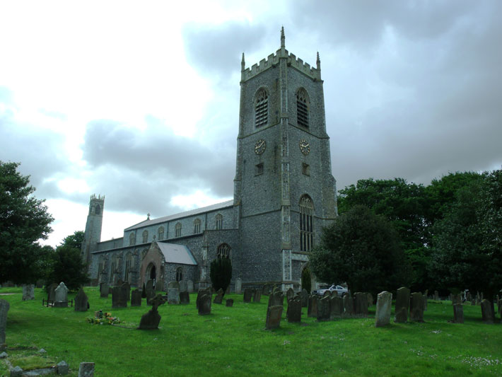 Letter From Blakeney Church