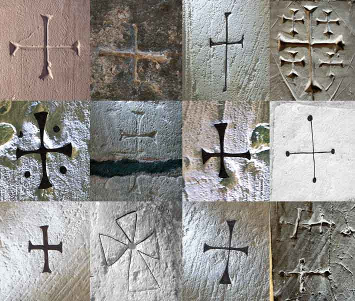 Writing On The Church Wall Archaeology Magazine