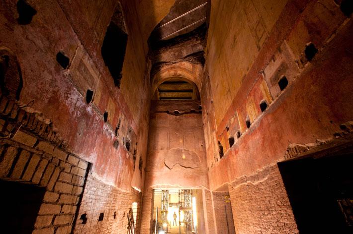 محل سکونت «نرون»، امپراتور روم باستان