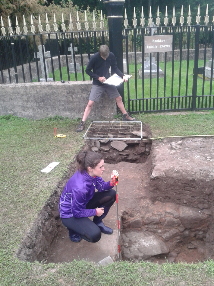 Medieval Castle Foundations Unearthed in Scotland