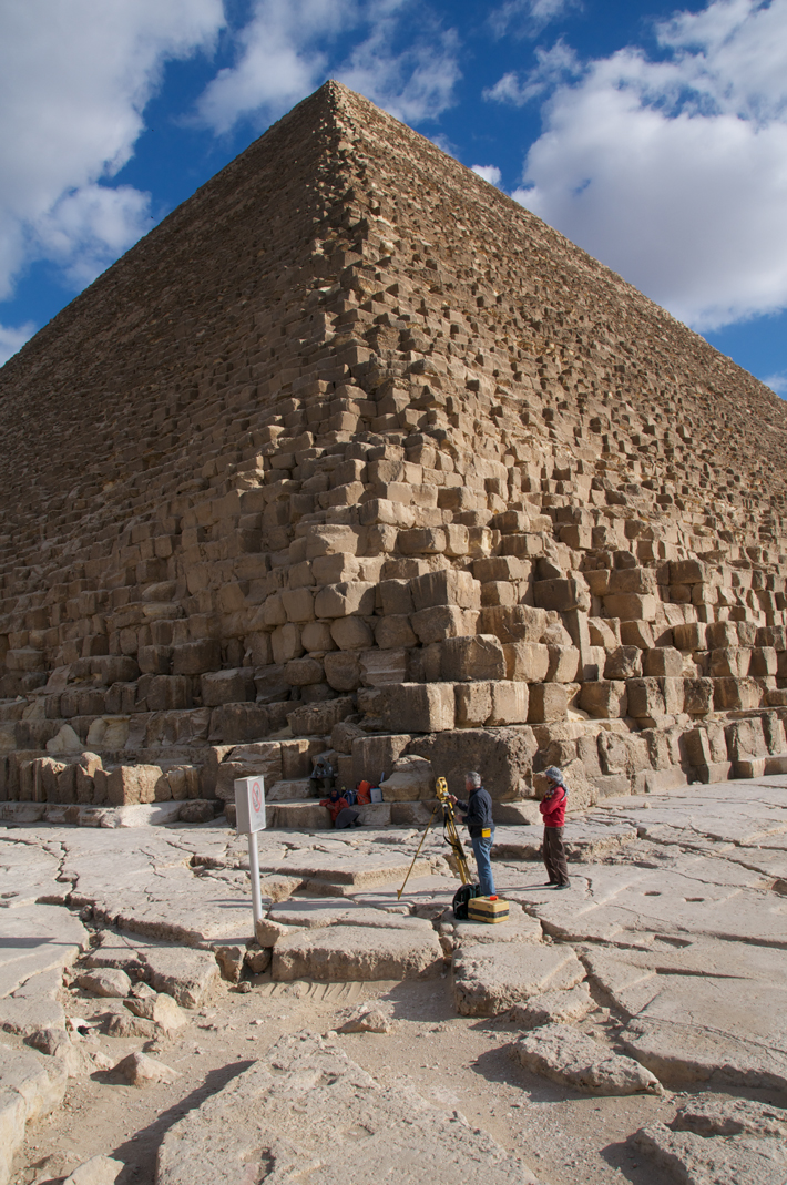Trenches Egypt Pyramid