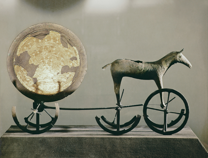 Trenches Denmark Trundholm Sun Chariot