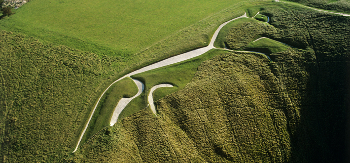Trenches England Prehistoric Uffington White Horse wide