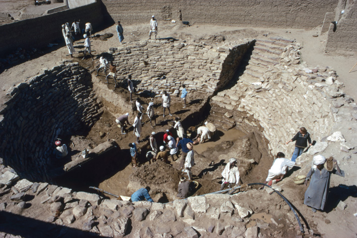 Kerma Royal Tomb Excavation